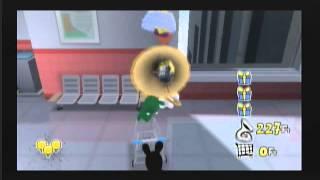 "Rabbids Go Home Wii Walkthrough Part 4 ""Infectious Blues"""