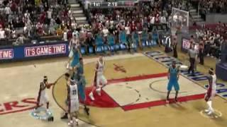 NBA 2k9 PC Gameplay Cavaliers vs. Hornets HIGH QUALITY