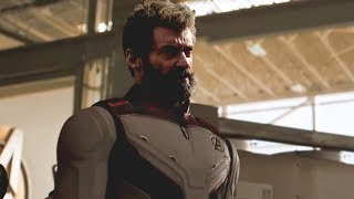 How WOLVERINE debuts in AVENGERS ENDGAME
