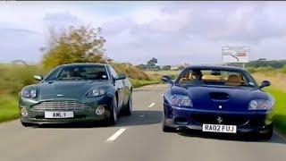 Aston Martin Vanquish vs Ferrari 575 | Part 2 | Top Gear