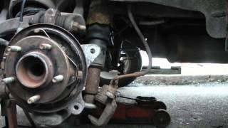 2003 Buick Rendezvous rear ebrake with the c shaped spring