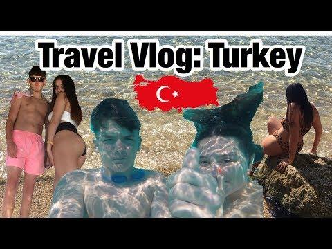 Travel Vlog: Turkey   Fish, Waterslides, Jet Ski & Cliffs (GoPro)