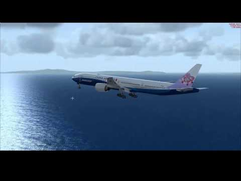 [FSX:SE] 2017 Global Tour The 6th Station - RJFF-RJBB FUK-KIX B777-300ER