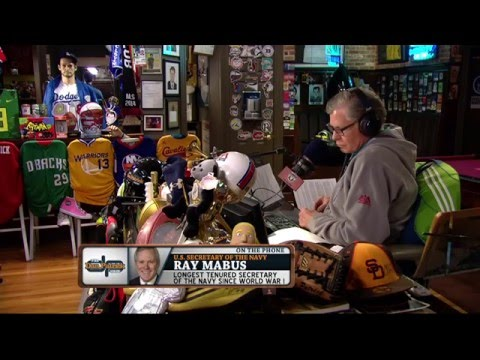 Ray Mabus on Keenan Reynolds (5/5/16)