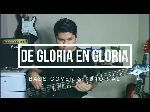 De Gloria En Gloria (Marco Barrientos) - Bass Cover & Tutorial