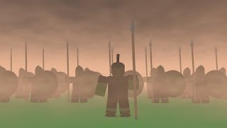 ROBLOX | SPARTANS, WHAT IS YOUR PROFESSION? (ANIMATION)
