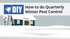 How to do a Quarterly Winter Pest Control Treatment