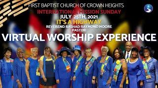 July 25th, 2021: International Ministry Sunday