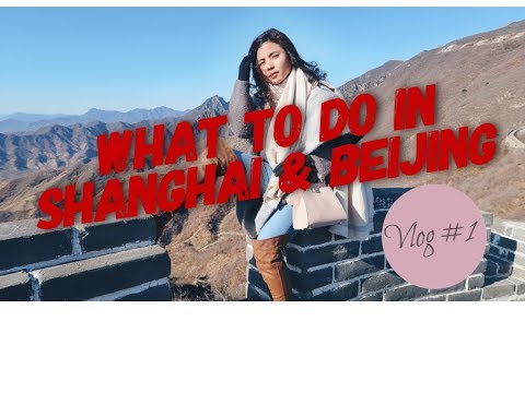 PINAY IN SHANGHAI AND BEIJING IN 6 DAYS - CANON G7X MARK II