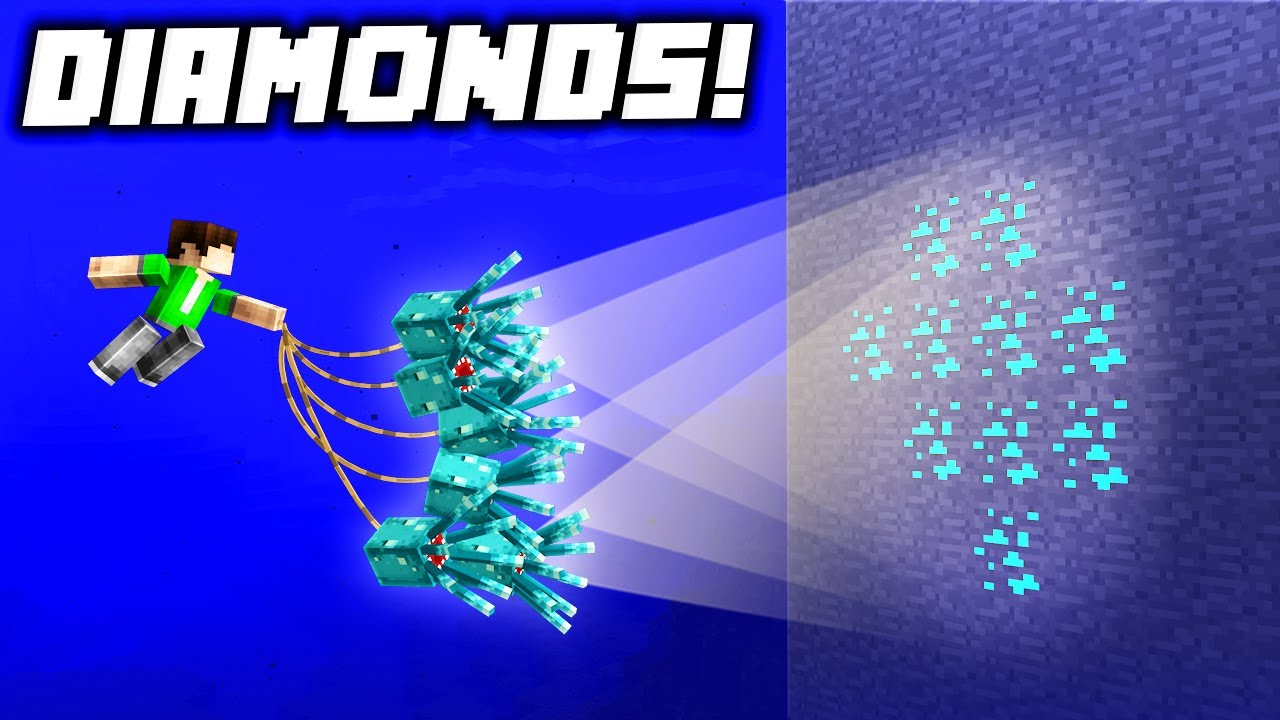 9 Ways to FIND DIAMONDS BEFORE Your Friends in Minecraft 1.17!