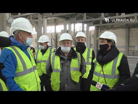 Сделают дороги и обеспечат работой. В Ульяновске строится завод – инвестор «Архбум»