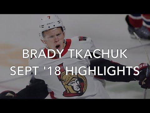 Brady Tkachuk - September 2018 Highlights