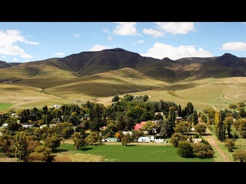 Rhodes Village, Eastern Cape, South Africa - Street Tour & Overview