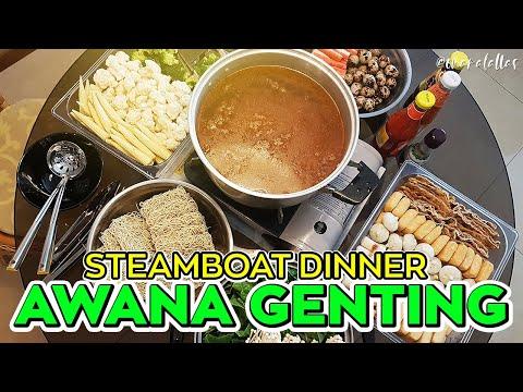 [ omaralattas ] vlog #45-2017: Part 1 - Steamboat Dinner @Awana Genting