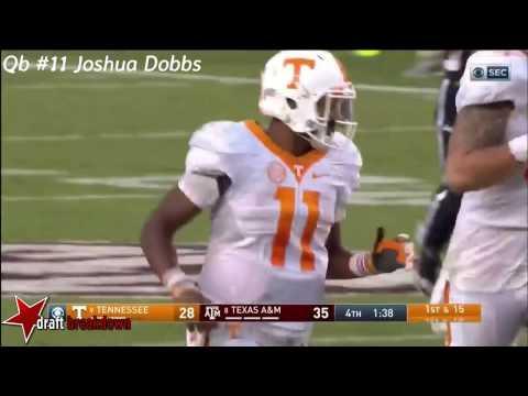 Joshua Dobbs Vs Texas A&M(2016)