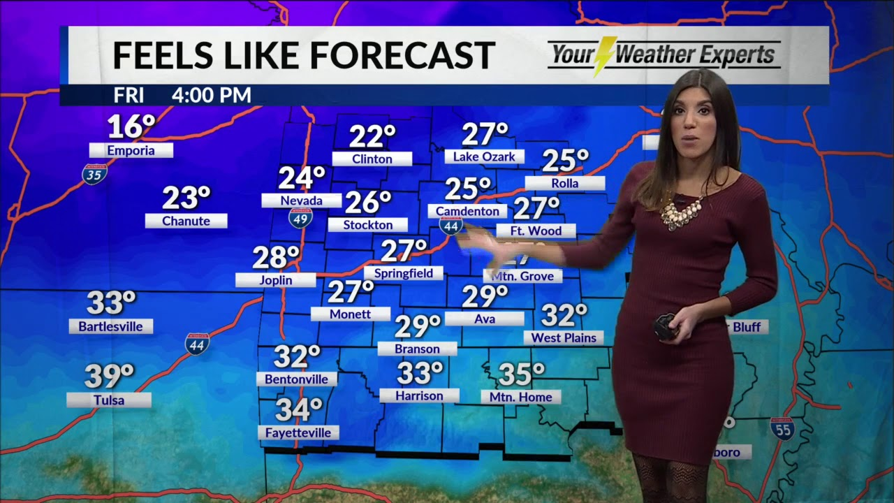 Elisa Raffa - KOLR 10 Weather, Friday 11AM 11/9/18