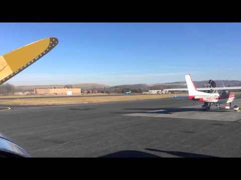 Grumman Yankee N47 Takeoff