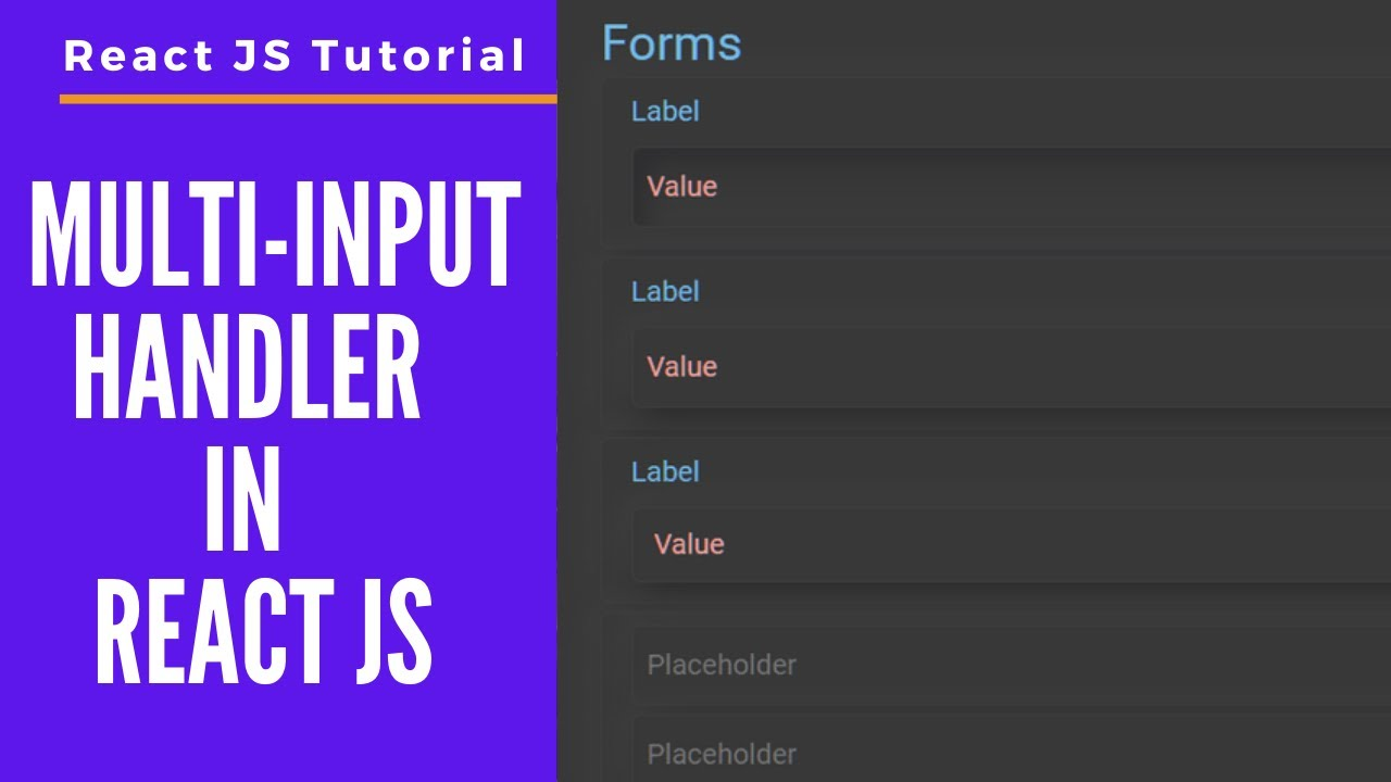 Multi Input Field Handler in React JS || Dynamically add/remove inputs and manage states || Hooks