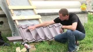 видео Пароизоляция плоской крыши: материалы, последовательность действий