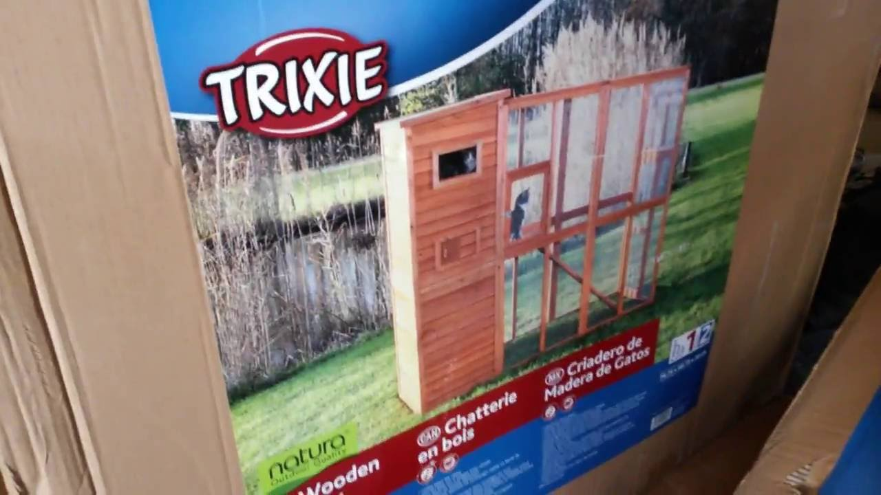Trixie Wooden Cattery