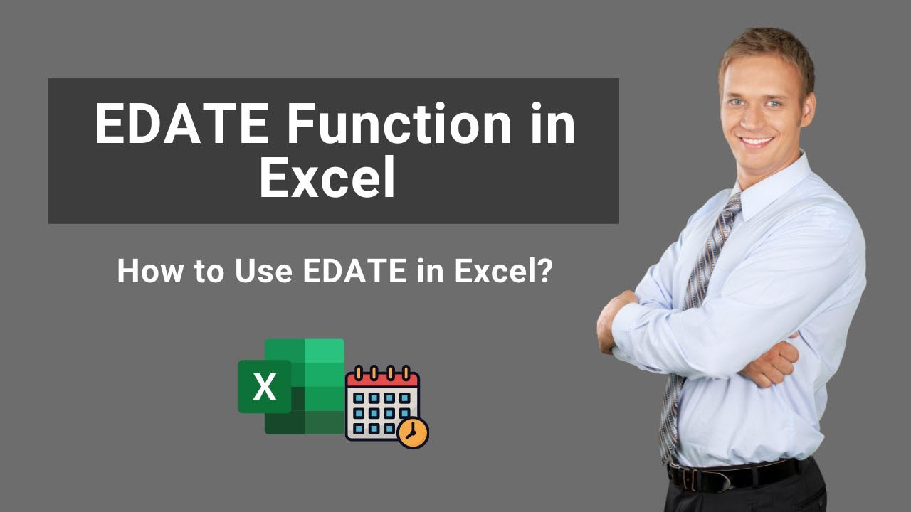 EDATE Function in Excel   Formula   How to Use EDATE in Excel