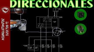 LUCES DIRECCIONALES (funcionamiento explicado con diagrama basico)