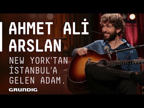 Ahmet Ali Arslan @Akustikhane - New York'tan İstanbul'a Gelen Adam #Akustikhane #sesiniaç