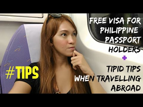 Visa Free for Philippine Passport Holders + Tipid Tips on Travelling Abroad