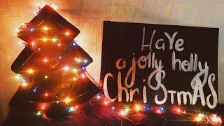 Новогодний декор комнаты своими руками | hola hola