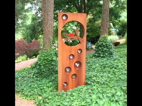 Garden sculpture ideas - YouTube