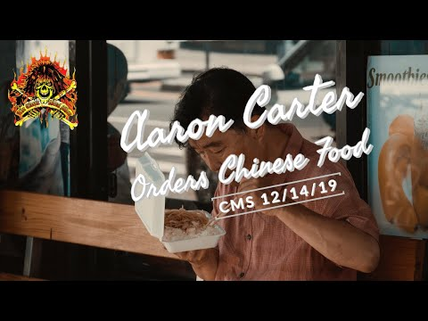 CMS HIGHLIGHT - Aaron Carter Orders Chinese Food