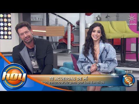 Fátima Molina y Gabriel Soto están ansiosos por el estreno de #TeAcuerdasDeMí | Hoy