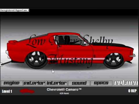 Low ride dragracer v3 customization