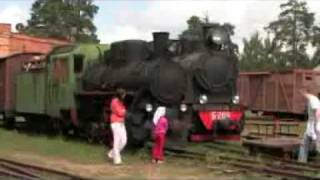 видео Музей паровозов в Переславль Залесский