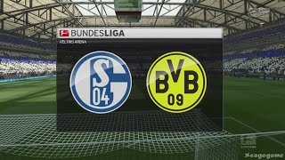 FIFA 17 - Schalke 04 VS Borussia Dortmund - Full Gameplay