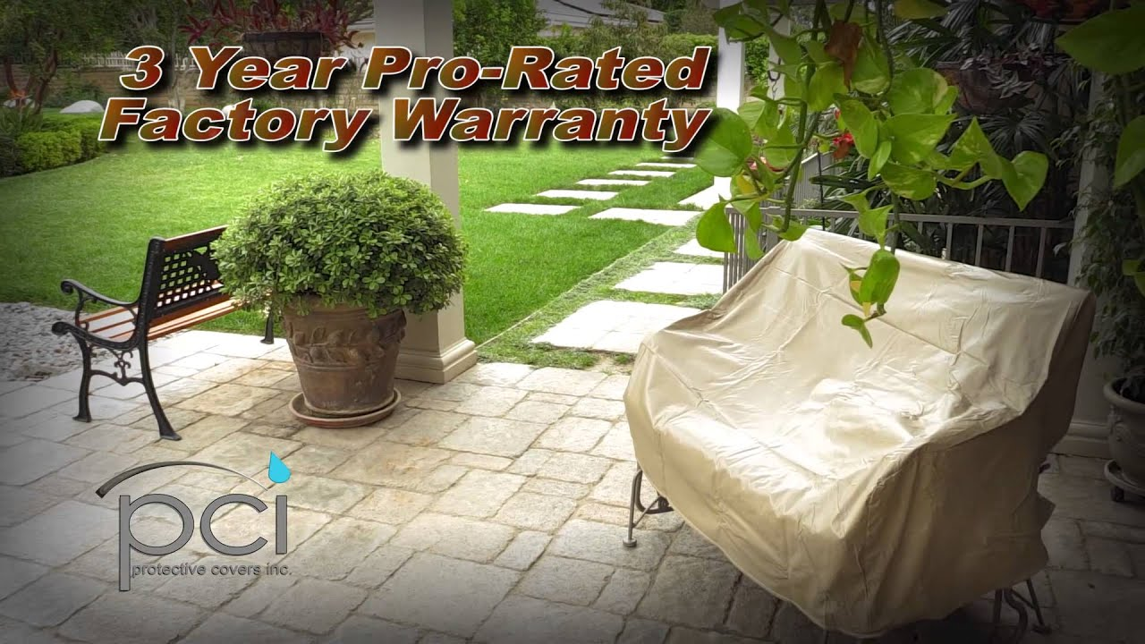 Pci By Adco Patio Furniture Covers Overview Youtube