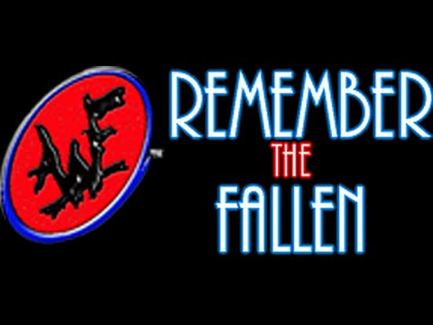 AWF Remember The Fallen 2014