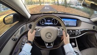 2017 Mercedes S Class New S350 Long AMG 4MATIC POV Driving Review Acceleration