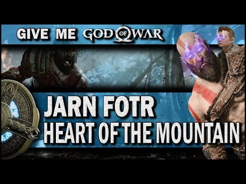 God of War - Jarn Fotr Boss Fight | Heart of the Mountain