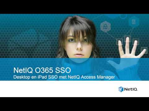 Office 365 Single Sign-On with NetIQ Access Manager Demo
