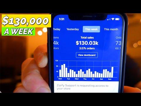 Making $130,030 In 1 Week - eCommerce