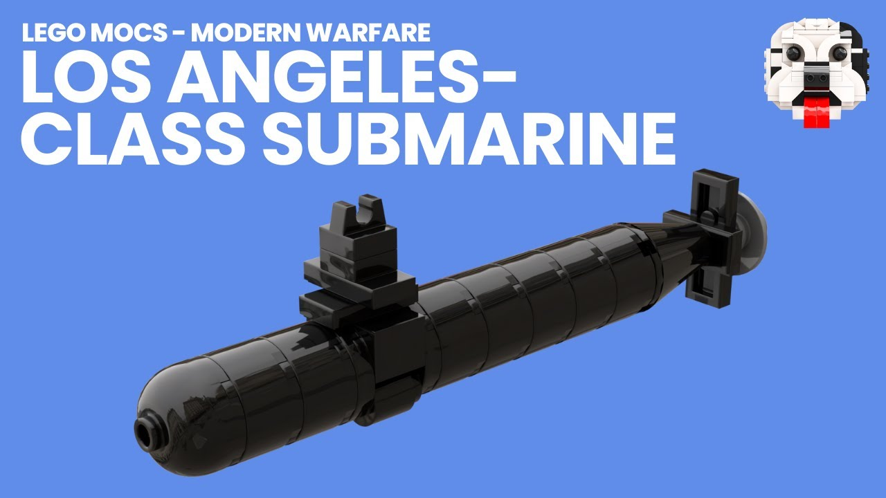 medium resolution of modern warfare lego los angeles class nuclear submarine video instructions