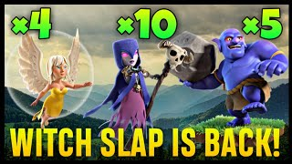 Town Hall 9 Witch Slap War Attack Strategy | Part 12 | Clash of Clans