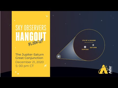 Sky Observers Hangout: The Jupiter-Saturn Great Conjunction