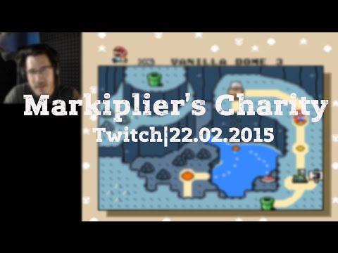 Markiplier's February 2015 Charity Livestream - YouTube Markiplier Twitch