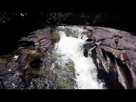 nature waterslide somewhere in Suriname