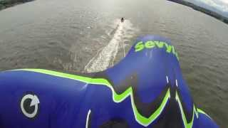 Manta Ray Kite Tubing Supercharged