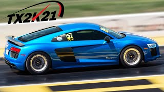 200mph races, Kyle's FIRST R8 passes, & MORE! (TX2K21 Day 1)