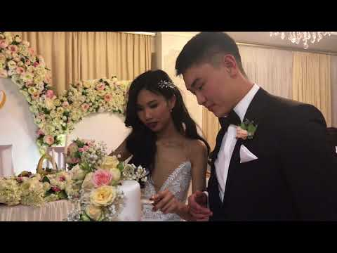 Свадьба Цери и Эли. Много счастья. Элиста 6.10.2017