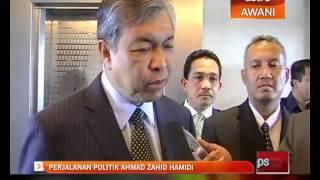 Perjalanan karier politik Ahmad Zahid Hamidi